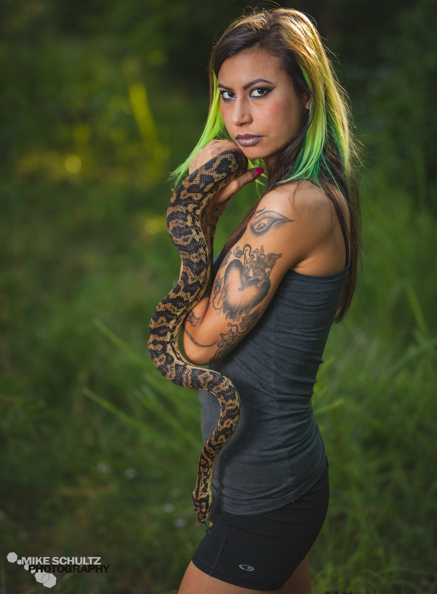 Portrait Lens for Reptile Photography